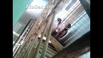 แอบถ่ายมุมสูง xxxในแฟรตข้าราชการ หทารยศใหญ่กำลังกินตับเมียชาวบ้าน ยืนเสียบไม่ปล่อยเลย เด็ดจริม คลิปไทย