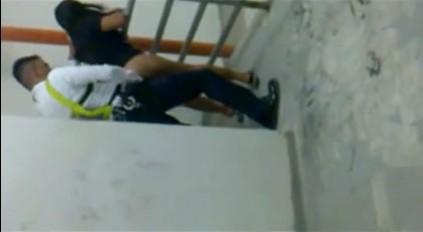 คลิปโป้ไทยแท้ๆ รปภ.ห้างเดอะพรอมานาด จับแม่บ้านสาวลาวxxxเย็ดท่าด็อกกี้ หลังลานจอดรถ