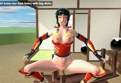 Samurai xxx สุดยอดมือปราบอินดี้หญิง เอากระบี่คู่ใจเสียบหีพร้อมโดนควยยัดไปพร้อมกัน anime girl 18+