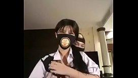Part 2 คลิปสาวไลฟ์สดใส่ชุด ม.ปลาย ให้ตัวผู้โชว์จับหน้าอก ขย้ำหัวนมจนควยแข็งเกือบหลุดเย็ดสดกันสะแล้ว