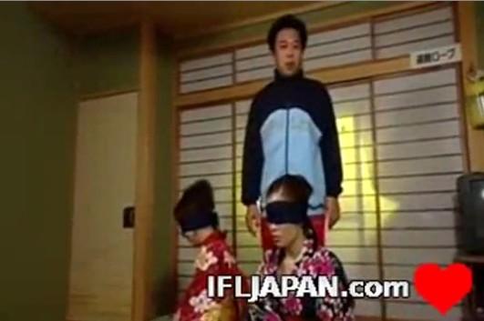 คลิปโป๊AVออนไลน์ Risa-Yuuka ดาราหนังโป๊ญี่ปุ่น แข่งกันเย็ดเป็นคู่คาชุดกิมาโน