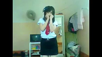 SEXY THAI RO89 น้องเชอรี่ สาวพานิชวัยขิขุอะโนเน๊ะ เต้นยั่วเสียวคาหน้ากล้องคาชุดนักเรียนอย่างเซ็กซี่ เอวดีเหลือเกิน