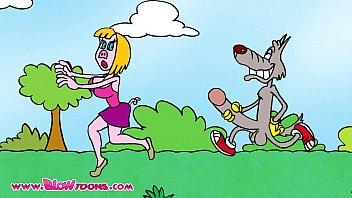 โป๊การ์ตูนขำๆ18+หมาไล่เย็ดคนทั่วป่า จับควยแข็งๆวิ่งไล่แทงผู้หญิงหีใหญ่ ร้องลั่นเด็ดเวอร์บอกเลยมีเงี่ยนมีฮาแน่นอน