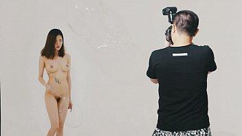 โหมดวาร์ปพร้อมทำงานา กับ Nude Photoshot นักร้องเกาหลีมารับถ่ายแบบโป้ นมสวย หุ่นดี หัวนมชมพู