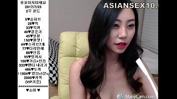 Hot Korean นางแบบเกาหลีไลฟ์สด VIP18+ ใส่ชุดยั่วควยแล้วถอดทีละชิ้นจนเห็นหี แตดโหนกนมใหญ่ ถ้าเจอจะจับเย็ดให้