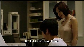 โป๊18+ มินิซีรี่ย์เกาหลีเสียวๆ KOREAN MOVIE คุณครูหนุ่มเย็ดกับนักเรียนรุ่นแม่ ติวหนังสือจนเงี่ยนคันควยจับเย็ดหีสะเลย
